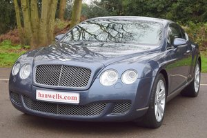 2009/09 Bentley Continental GT in Meteor Blue For Sale