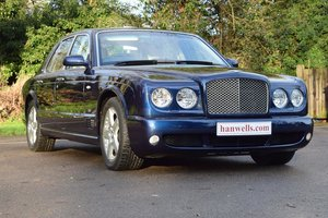 2006/06 Bentley Arnage T Level 2 Sports in Peacock Blue For Sale