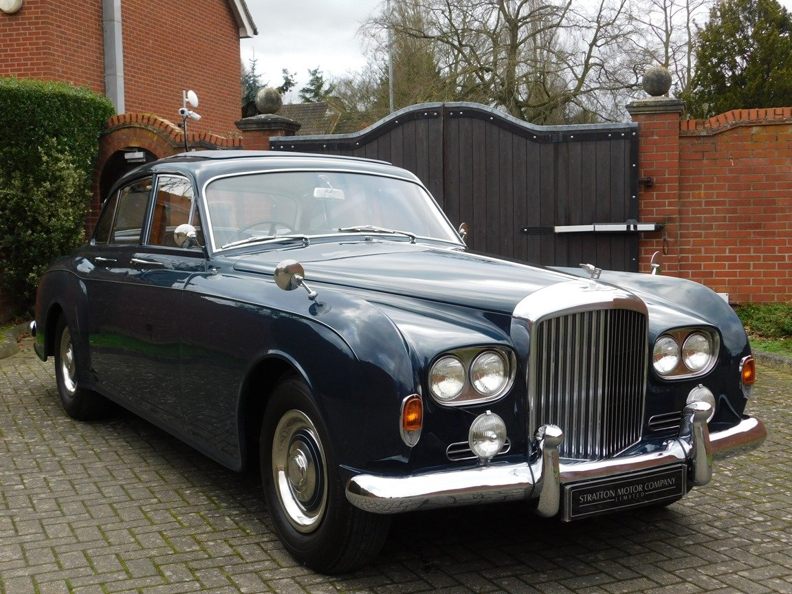 1963 Bentley S3 Continental Four-Door Sports Saloon For Sale (picture 1 of 23)