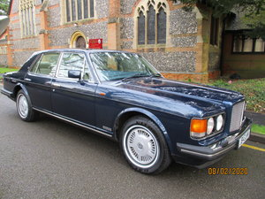 Bentley 8  1992   Stunning 4 Speed 68,400 Miles Full History
