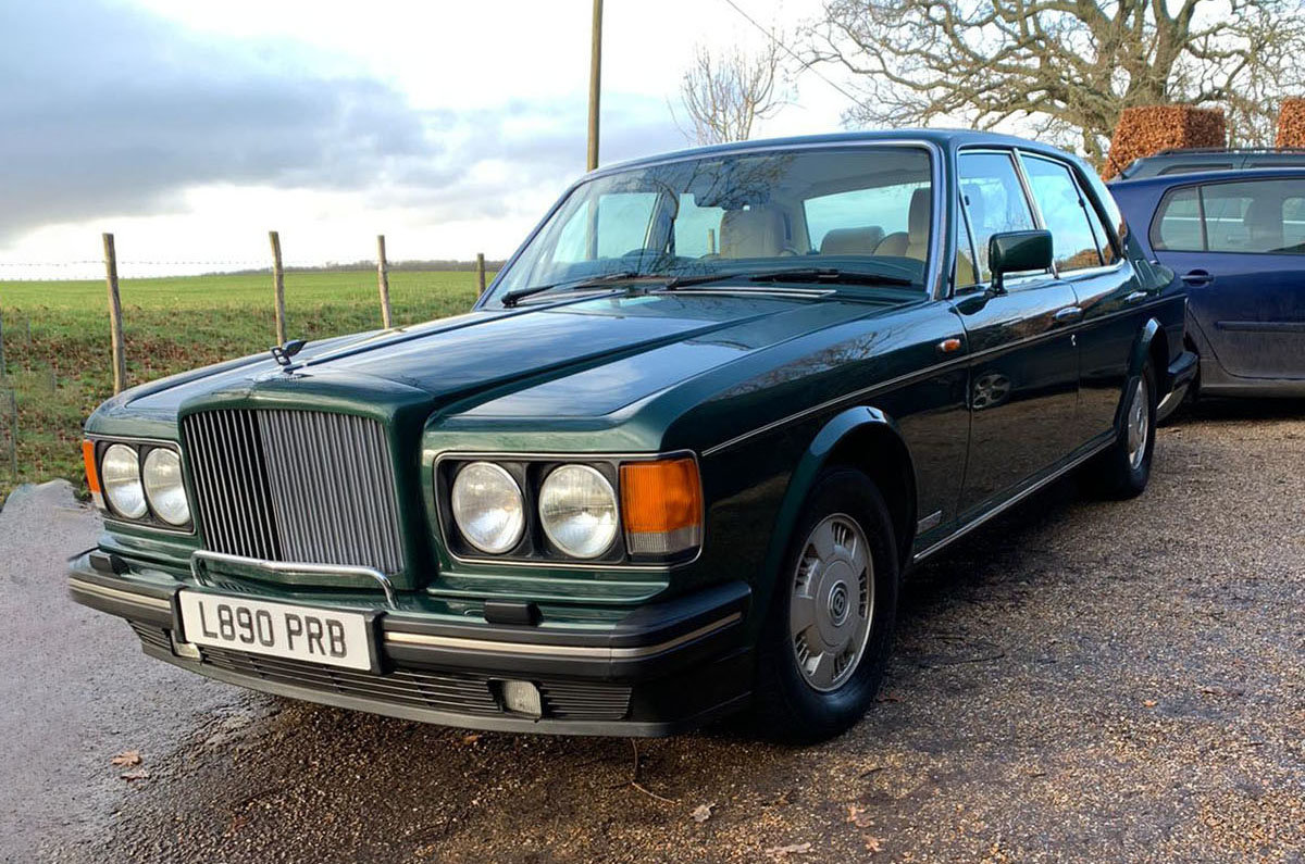 1993 Bentley Brooklands 22 Feb 2020 For Sale by Auction (picture 1 of 4)