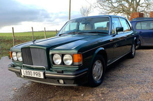 1993 Bentley Brooklands 22 Feb 2020 For Sale by Auction