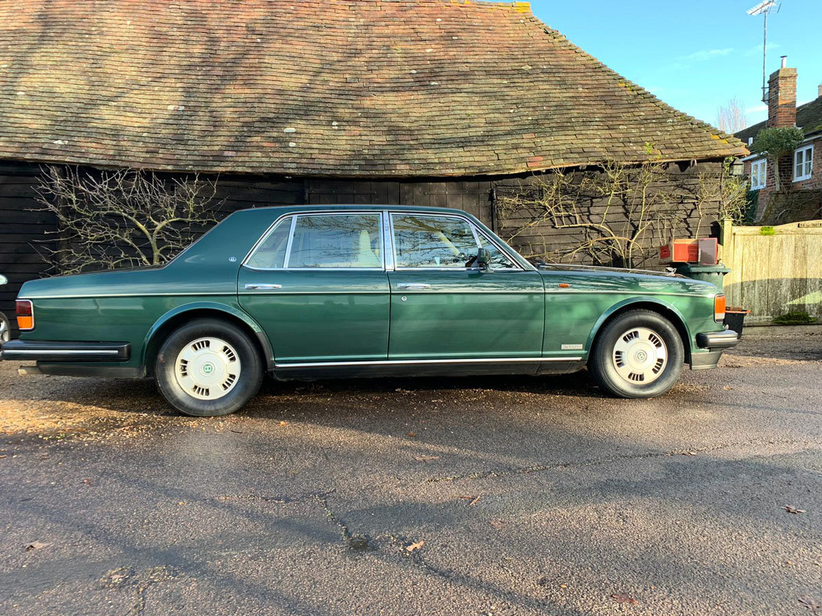 1993 Bentley Brooklands 22 Feb 2020 For Sale by Auction (picture 2 of 4)