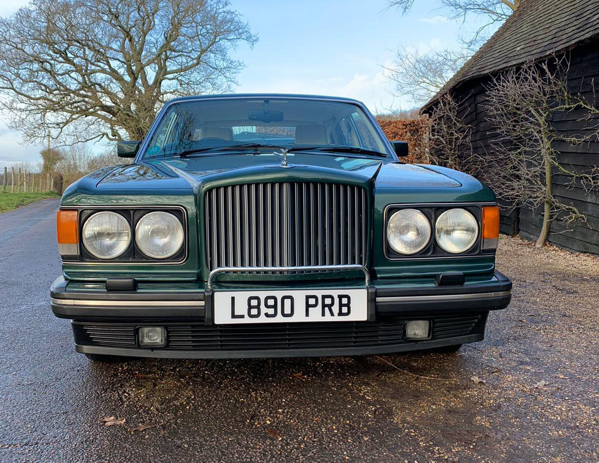 1993 Bentley Brooklands 22 Feb 2020 For Sale by Auction (picture 3 of 4)