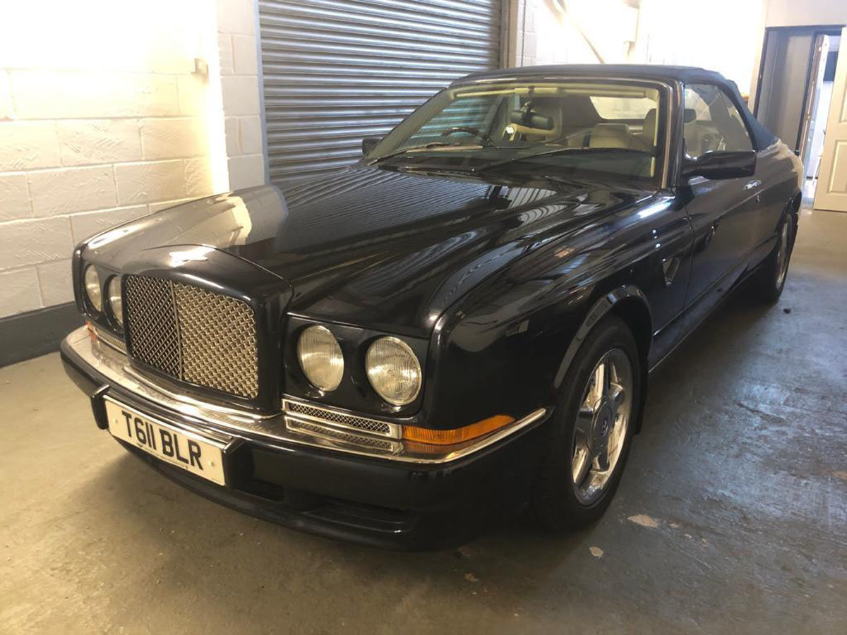 1999 Bentley Azure 6.8 Turbo 22 Feb 2020 For Sale by Auction (picture 1 of 5)