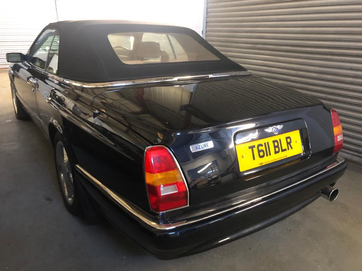 1999 Bentley Azure 6.8 Turbo 22 Feb 2020 For Sale by Auction (picture 2 of 5)