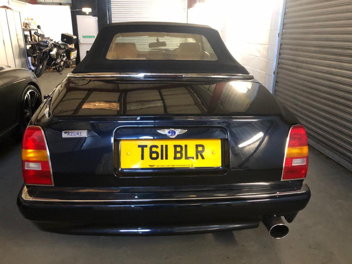 1999 Bentley Azure 6.8 Turbo 22 Feb 2020 For Sale by Auction (picture 3 of 5)