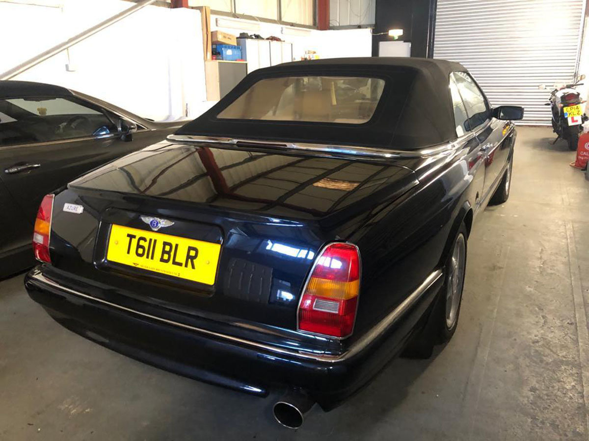 1999 Bentley Azure 6.8 Turbo 22 Feb 2020 For Sale by Auction (picture 4 of 5)