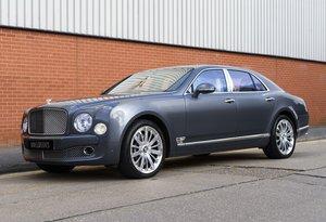 2016 Bentley Mulsanne (RHD) For Sale