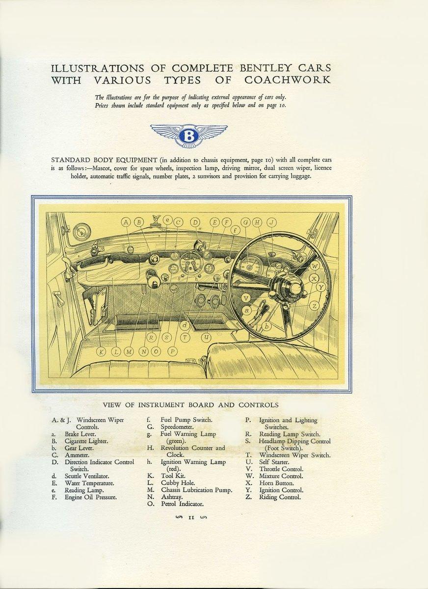 1931 Bentley Brochure ***PRICE DROP*** For Sale (picture 4 of 6)
