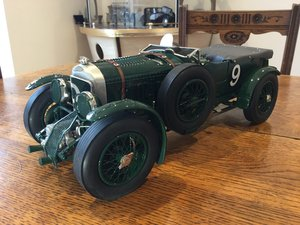 Bentley model 1/12 scale metal model by blueprint For Sale