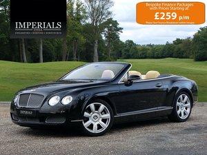 2006 Bentley  CONTINENTAL GTC  CABRIOLET AUTO  32,948 For Sale
