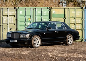 2003 Bentley Arnage T SOLD by Auction