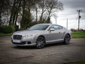 2014 Bentley  CONTINENTAL GT  SPEED COUPE AUTO  POA