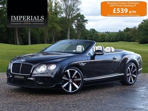 2017 Bentley  CONTINENTAL GTC  4.0 V8 S MULLINER CABRIOLET AUTO   For Sale