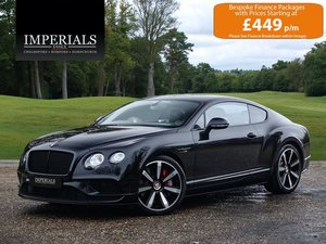 2016 Bentley  CONTINENTAL GT  4.0 V8 S MULLINER COUPE AUTO  75,94