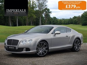 2014 Bentley  CONTINENTAL GT  SPEED COUPE AUTO  57,948 For Sale