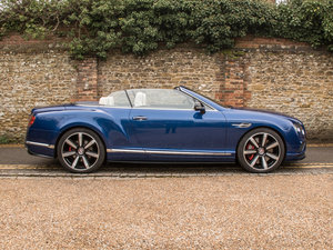 2018 Bentley  Continental GT  Continental GT V8S Mulliner Cabriol SOLD