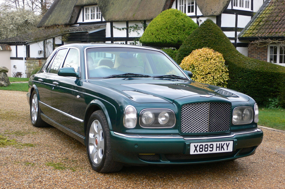 2000 Bentley Arnage Red Label For Sale by Auction (picture 1 of 6)