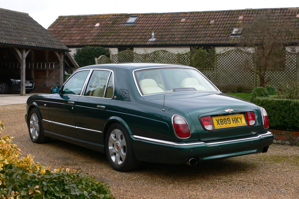 2000 Bentley Arnage Red Label For Sale by Auction (picture 3 of 6)