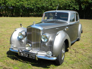 1951 BENTLEY MARK VI, 41-year ownership SOLD