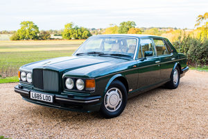 1993 Bentley Turbo R, Balmoral Green over Magnolia For Sale