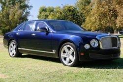 2013 Bentley Mulsanne Black Sapphire(~)Tan 14k miles $121.8k