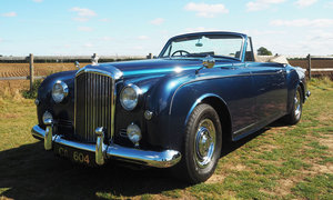 1958 Bentley S1 Continental Park Ward Drophead Coupe