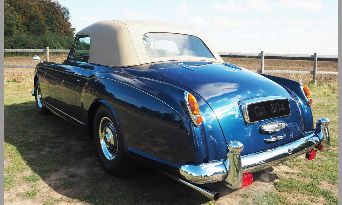1958 Bentley S1 Continental Park Ward Drophead Coupe  For Sale (picture 2 of 6)