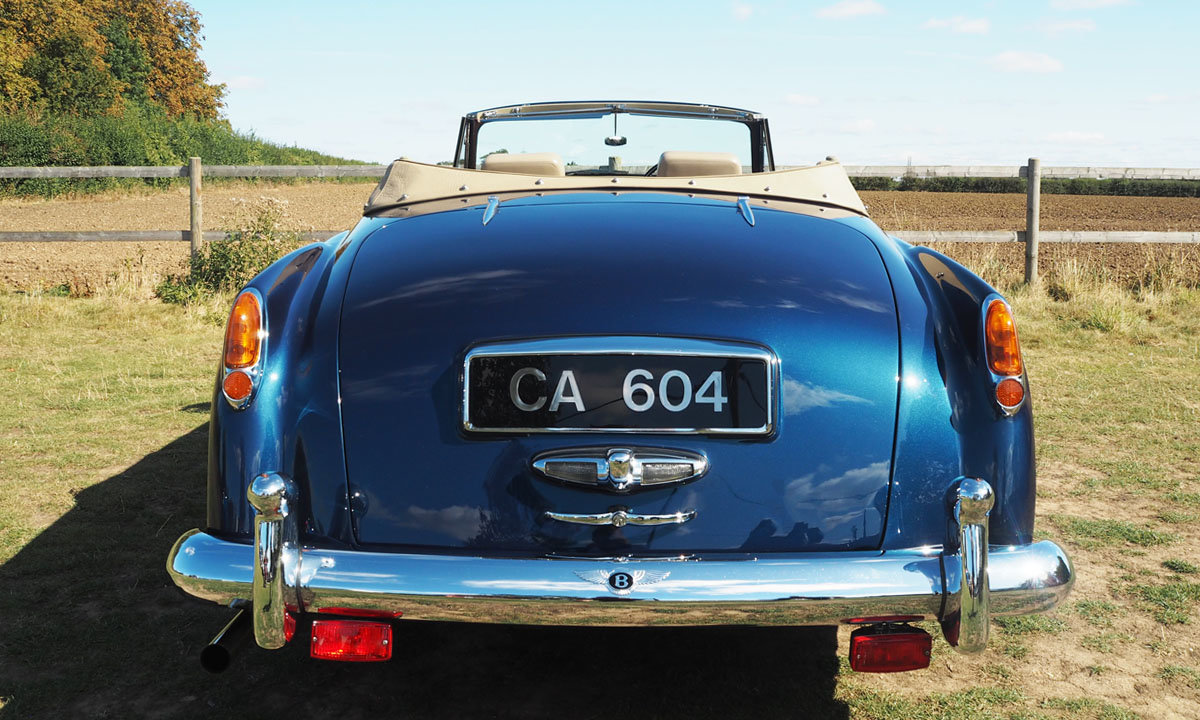 1958 Bentley S1 Continental Park Ward Drophead Coupe  For Sale (picture 3 of 6)