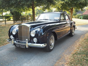 1958 Bentley S1 Continental Flying Spur by H.J Mulliner
