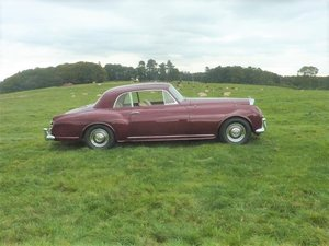 1956 Bentley S1 Continental Sports Saloon