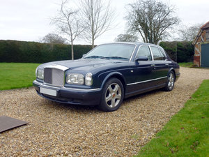 2002 Bentley Arnage Red Label For Sale by Auction
