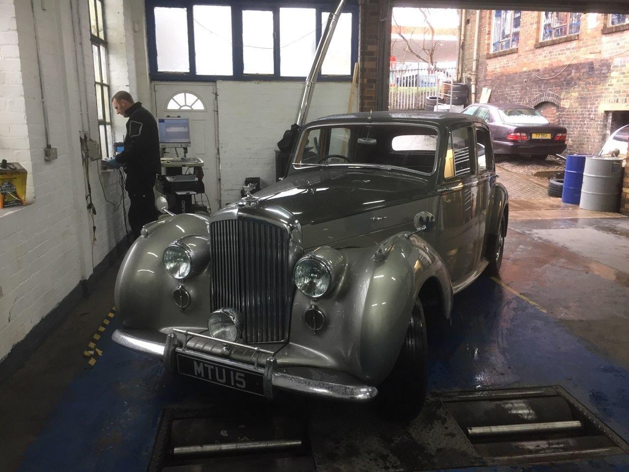 1950 Bentley Mk VI 4.25 Saloon.Beautiful.MOT 27/02/2021 SOLD (picture 5 of 6)