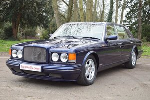 1997 R Bentley Turbo RT in Peacock Blue For Sale