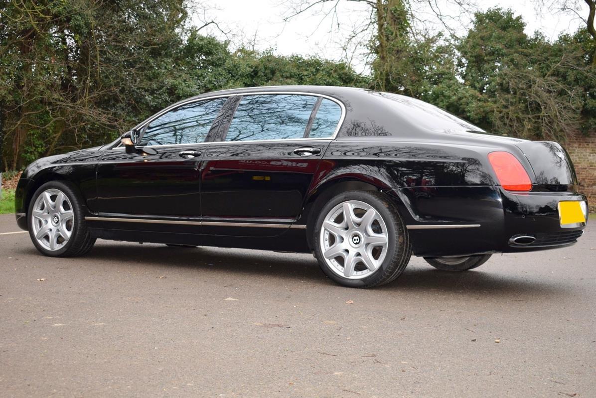 2007/56 Bentley Flying Spur Mulliner in Beluga For Sale (picture 4 of 6)