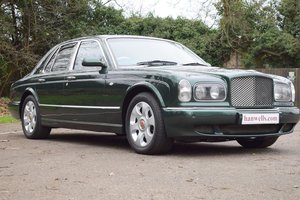 2000 X Bentley Arnage Red Label in Verdant Green For Sale