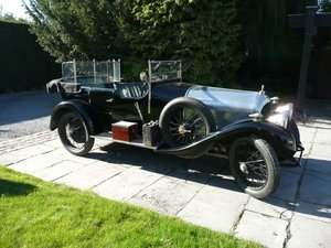 1922 Bentley 3 Litre Blue Label