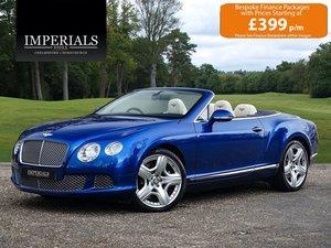 2012 Bentley  CONTINENTAL GTC  MULLINER CABRIOLET AUTO  61,948