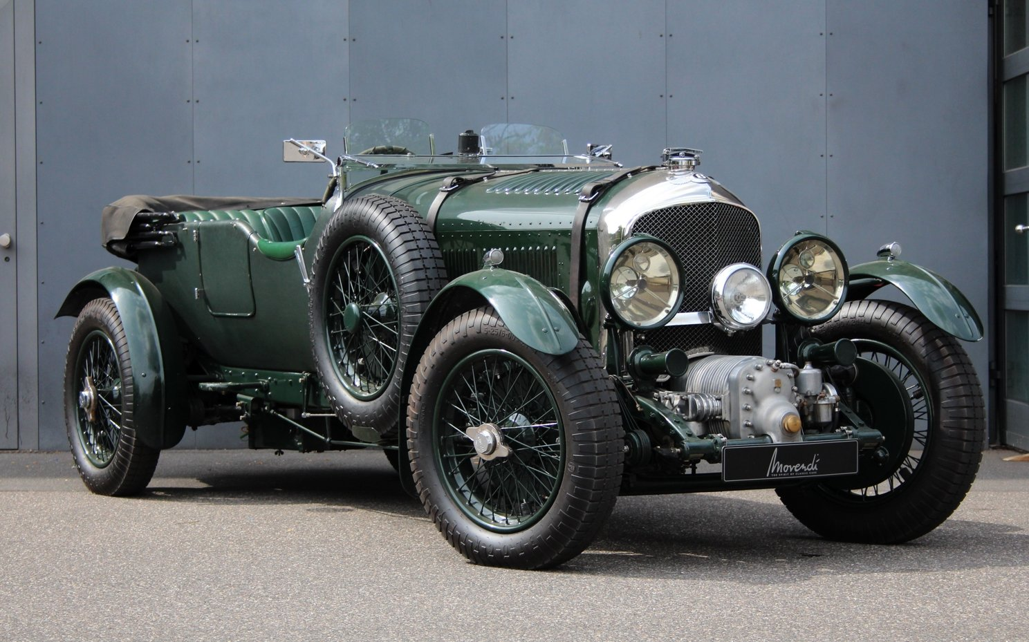 1929 Bentley 4 1/2 Litre Blower Open Tourer RHD by Graham Moss For Sale (picture 1 of 6)