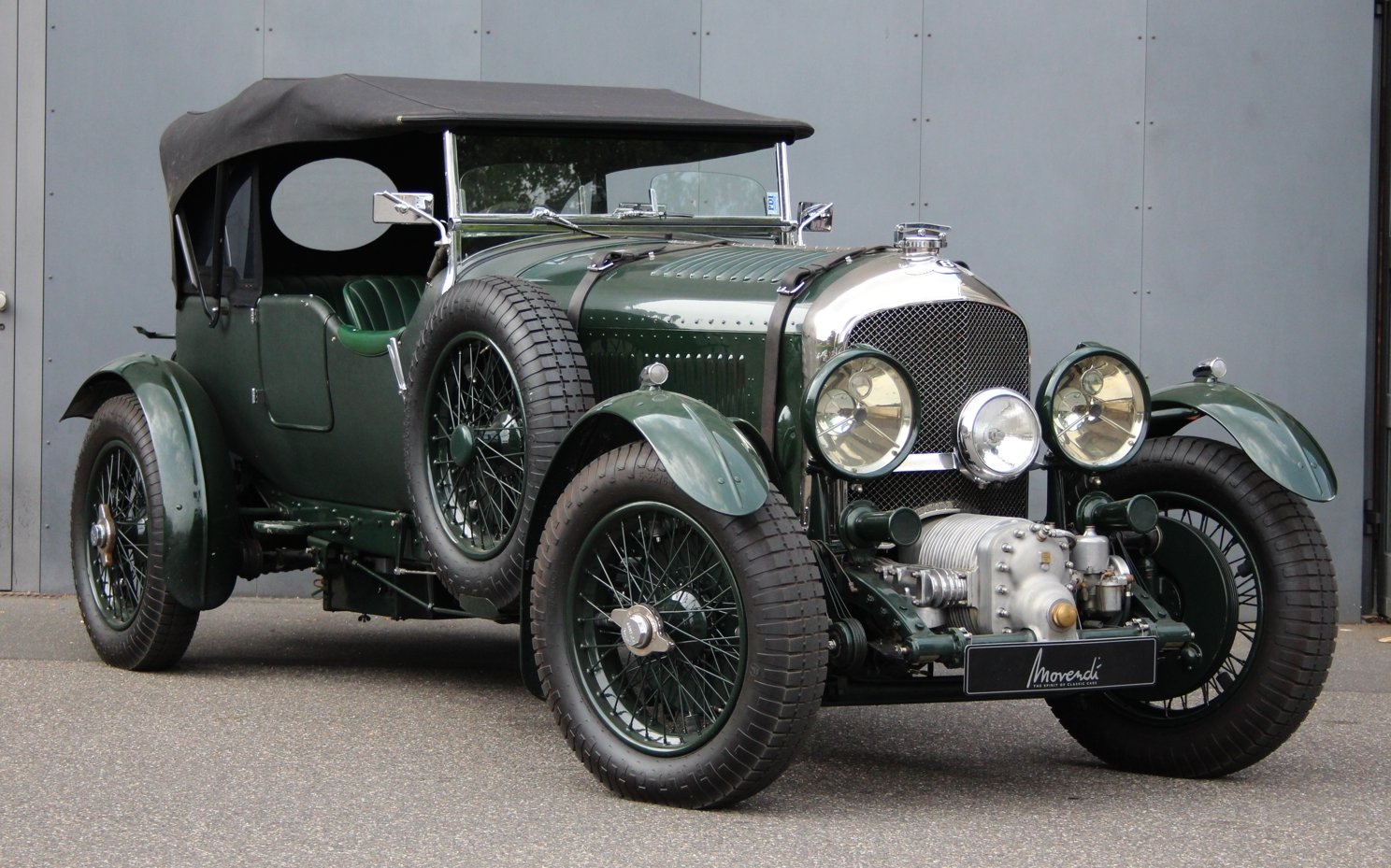 1929 Bentley 4 1/2 Litre Blower Open Tourer RHD by Graham Moss For Sale (picture 6 of 6)