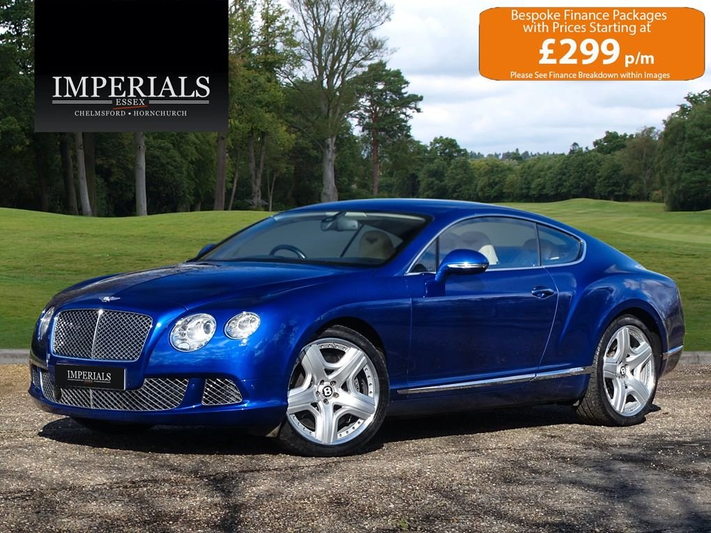 2011 Bentley  CONTINENTAL GT  MULLINER COUPE 2012 MODEL AUTO  44, For Sale (picture 1 of 24)