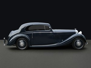 1936 Bentley 3 1/2 Litre Coupe by Gurney Nutting For Sale