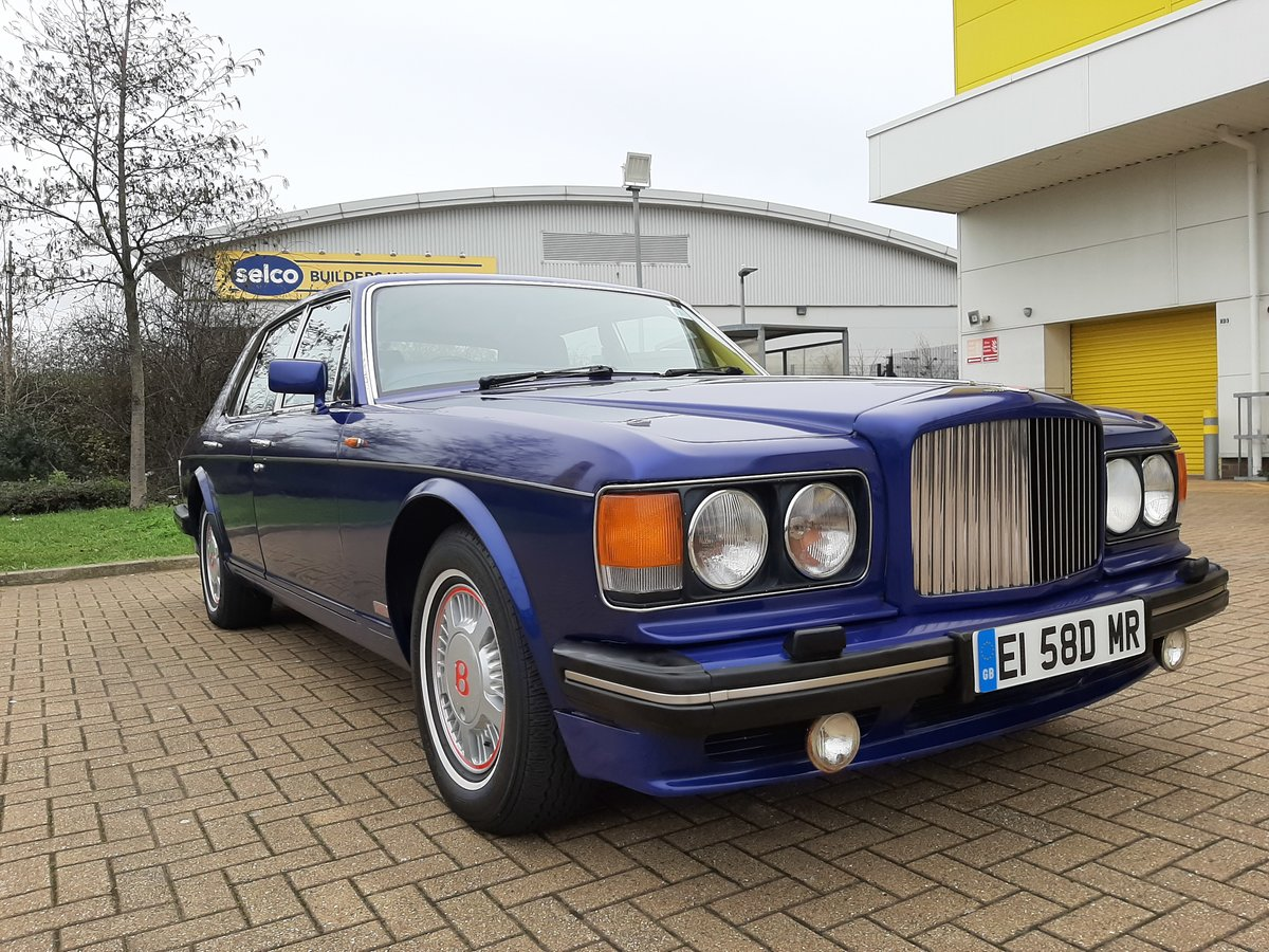1988 Bentley Turbo R, Long Wheel Base,Auto 71000 m For Sale (picture 2 of 6)