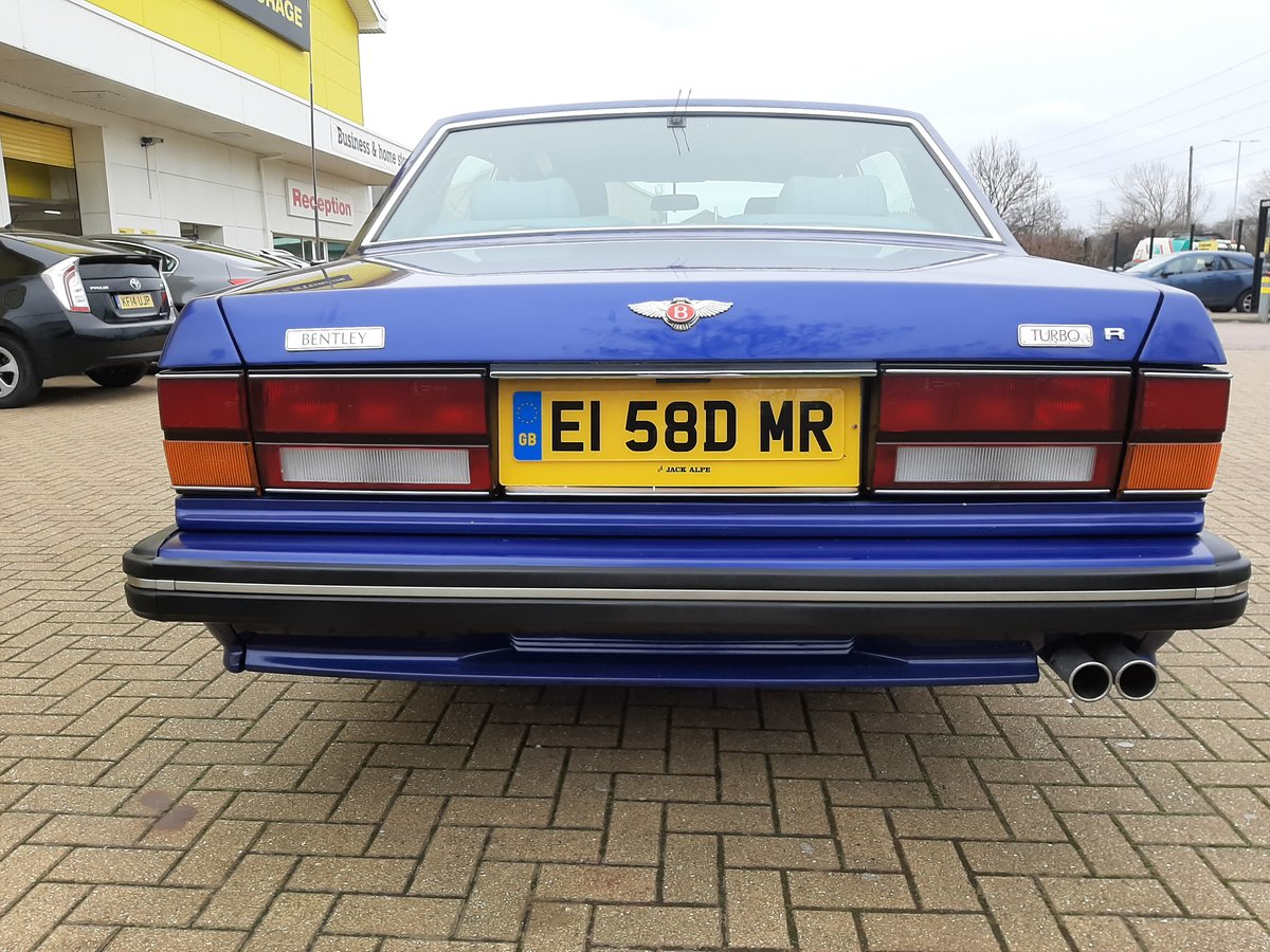 1988 Bentley Turbo R, Long Wheel Base,Auto 71000 m For Sale (picture 4 of 6)