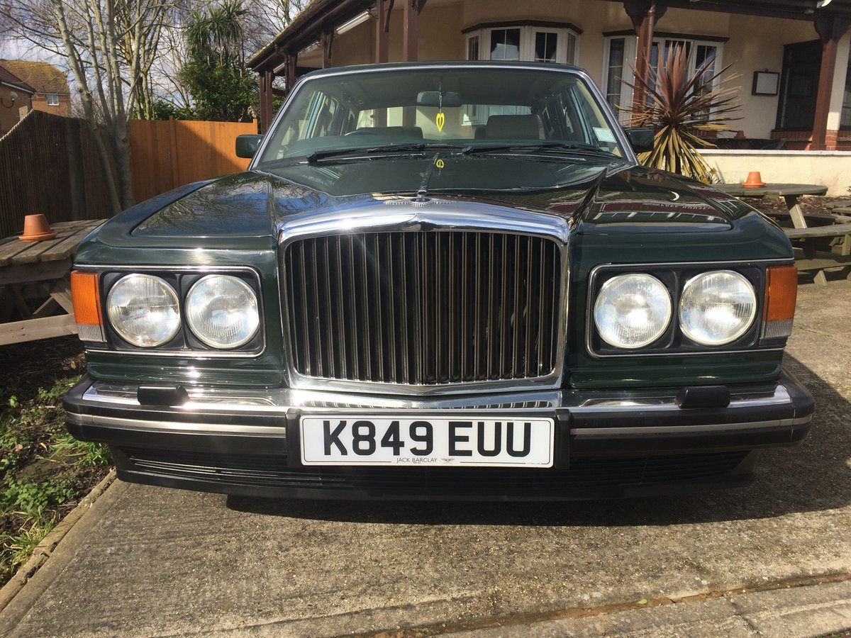 1992 Bentley Mulsanne S  1 owner For Sale (picture 3 of 6)