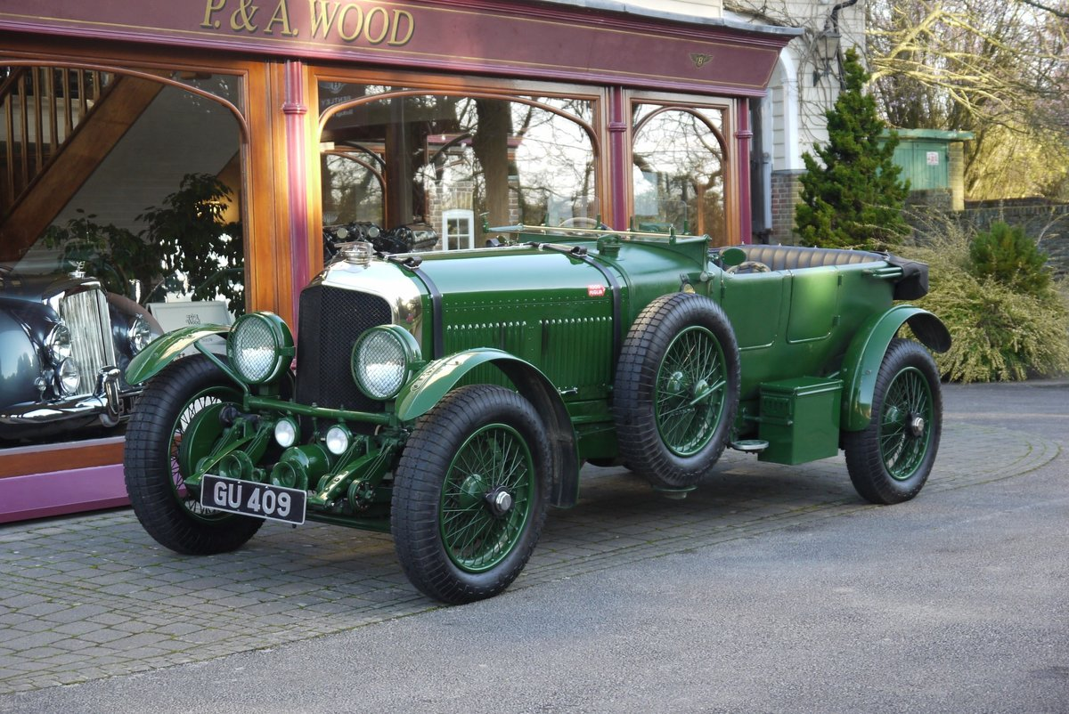 Bentley 6 ½ litre Speed Six 1929 Le Mans Team Car style tour For Sale (picture 1 of 6)