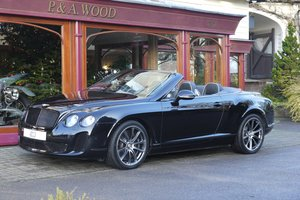Bentley Continental GTC Supersports. December 2010 For Sale