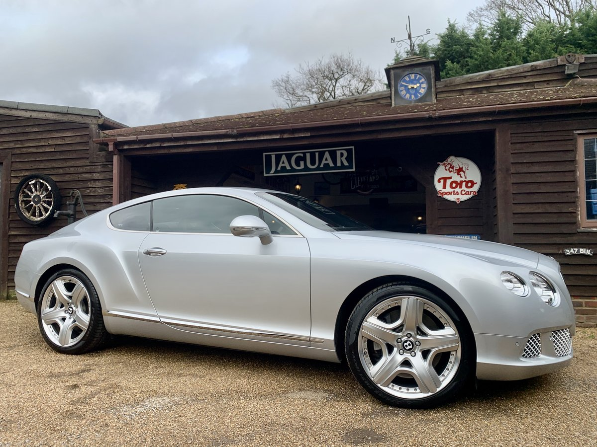 2011 BENTLEY CONTINENTAL GT W12 MULLINER DRIVING SPEC' SOLD (picture 1 of 6)