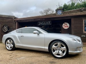 2011 BENTLEY CONTINENTAL GT W12 MULLINER DRIVING SPEC' SOLD